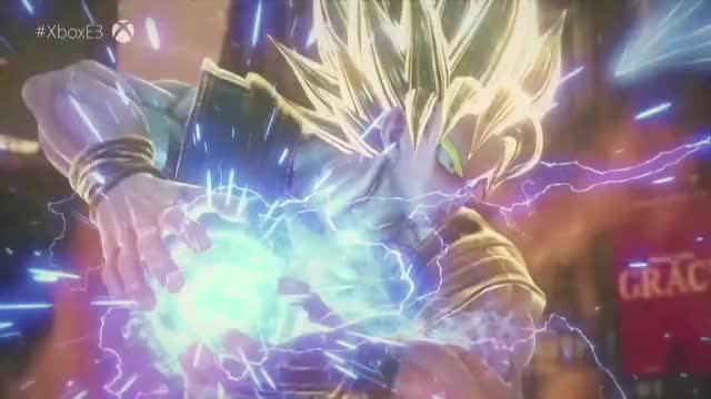 Watch and share Jump Force Trailer GIFs and Dragon Ball Game GIFs by Rocco Supreme on Gfycat