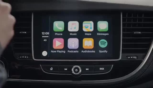 Watch and share With Apple CarPlayTM Support – The Opel MOKKA X GIFs on Gfycat