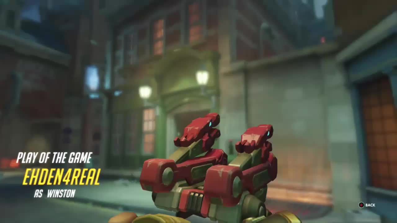 overwatch, ultimategifs, winston, I Might've stole Reapers PotG GIFs