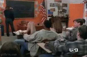 Watch this curated GIF by The GIF Smith (@sannahparker) on Gfycat. Discover more chuck norris, paper wad, teacher, teacher appreciation day, teaching GIFs on Gfycat