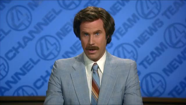 Watch and share Ron Burgundy GIFs and Will Ferrell GIFs by cheesius on Gfycat