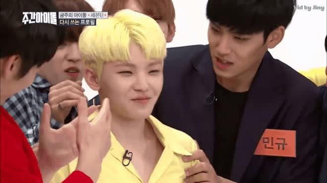 Còn ai hạnh phúc hơn Woozi: Chàng trai được SEVENTEEN dành cả tuổi thanh xuân để cưỡng hôn