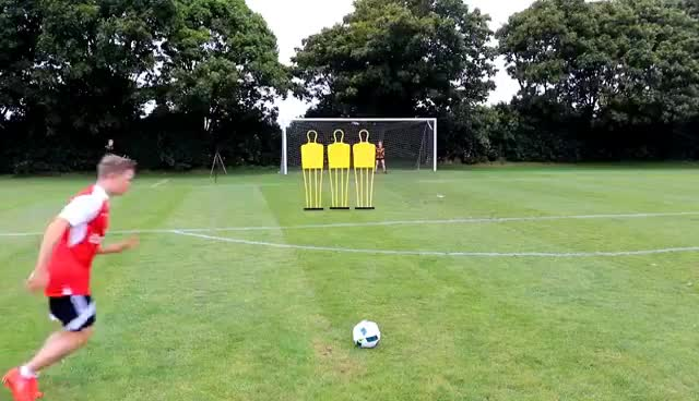 FOOTBALL CHALLENGES WITH THE WORLD'S BEST GOALKEEPERS GIFs