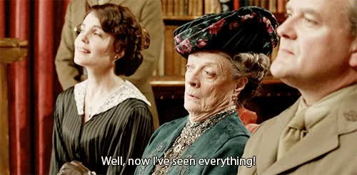 Watch table manners GIF on Gfycat. Discover more maggie smith GIFs on Gfycat