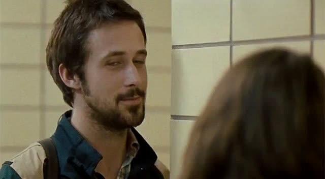 bye, creeping, hiding, leaving, ryan gosling, see ya, Ryan Gosling Bye GIFs