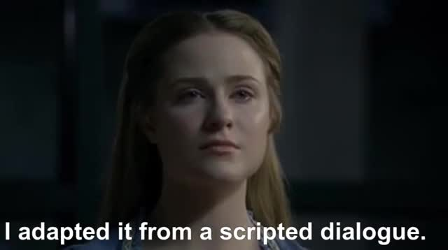 Watch and share Evan Rachel Wood GIFs and Westworld GIFs by ChuckyCheezus on Gfycat