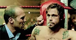 Watch and share Snatch Movie GIFs and Vinnie Jones GIFs on Gfycat