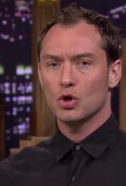 Watch this jude law GIF by The GIF Forge (@leahstark) on Gfycat. Discover more GIF Brewery, gif brewery, jude law, tonight-show-funny-face-off-with-jude-law GIFs on Gfycat