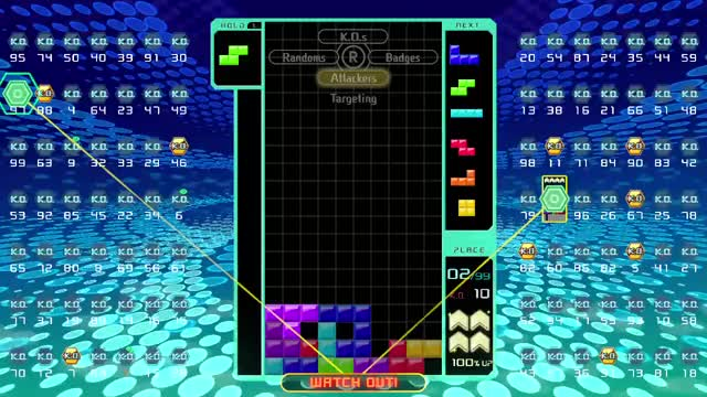 Watch and share Video Games GIFs and Tetris 99 GIFs by Aki on Gfycat