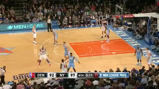 Watch and share New York Knicks GIFs and Denver Nuggets GIFs on Gfycat