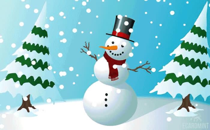 Christmas, Happy, Shake, Snow, Snowman, Xmas, Snowman Wiggle GIFs