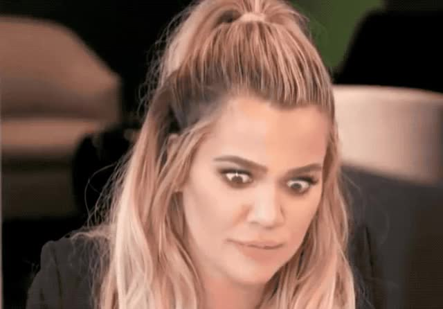 Watch this khloe kardashian GIF by ioanna on Gfycat. Discover more awkward, believe, can't, eye, eyeroll, god, it, kardashian, keeping, kuwtk, my, oh, omg, roll, the, unbelievable, up, weird, with, wtf GIFs on Gfycat