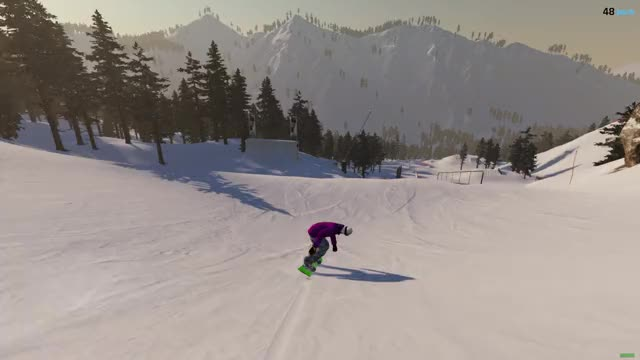 Watch and share The Snowboard Game GIFs and Steep GIFs by EggbertTV on Gfycat