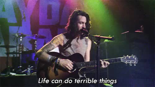 Watch Terrible things - Mayday parade GIF on Gfycat. Discover more derek sanders, mayday parade, terrible things GIFs on Gfycat