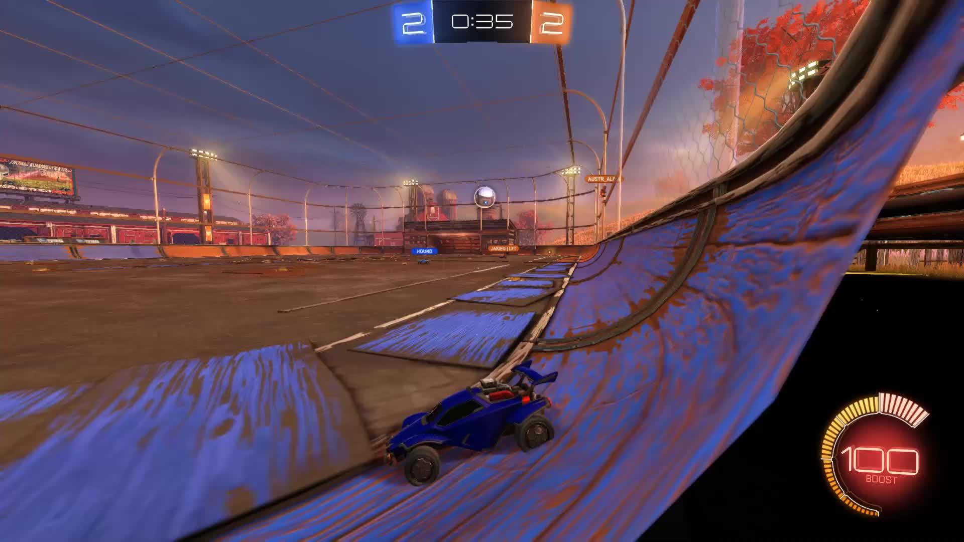 RocketLeague, Goal 5: berserk. GIFs