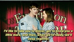 *aubreyplaza, *danedehaan, 1k, 500, NEVER OVER IT, aubrey plaza, crystalroden, dane dehaan, danedehaanedit, life after beth, life after beth cast, mine, mine: gifs, & if all else whispers back into the tide . . . GIFs