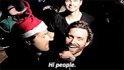 Watch and share Christmas Concert GIFs and Misha Collins GIFs on Gfycat