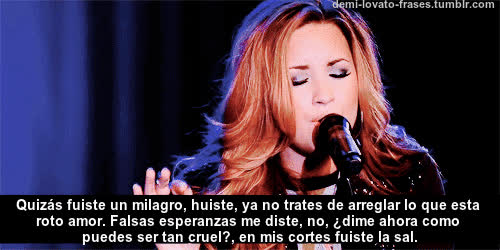 Demi Lovato Frases Gif Create Discover And Share On Gfycat