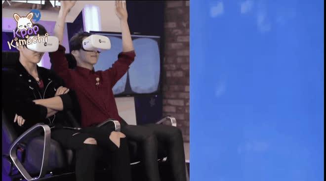 Đẳng cấp game thủ của sao Hàn là đây: Chơi game thực tế ảo mà cuồng nhiệt, la hét như thật