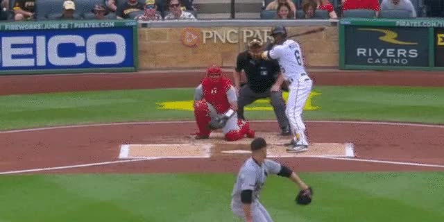 Watch and share Marte Hr GIFs by DK Pittsburgh Sports on Gfycat