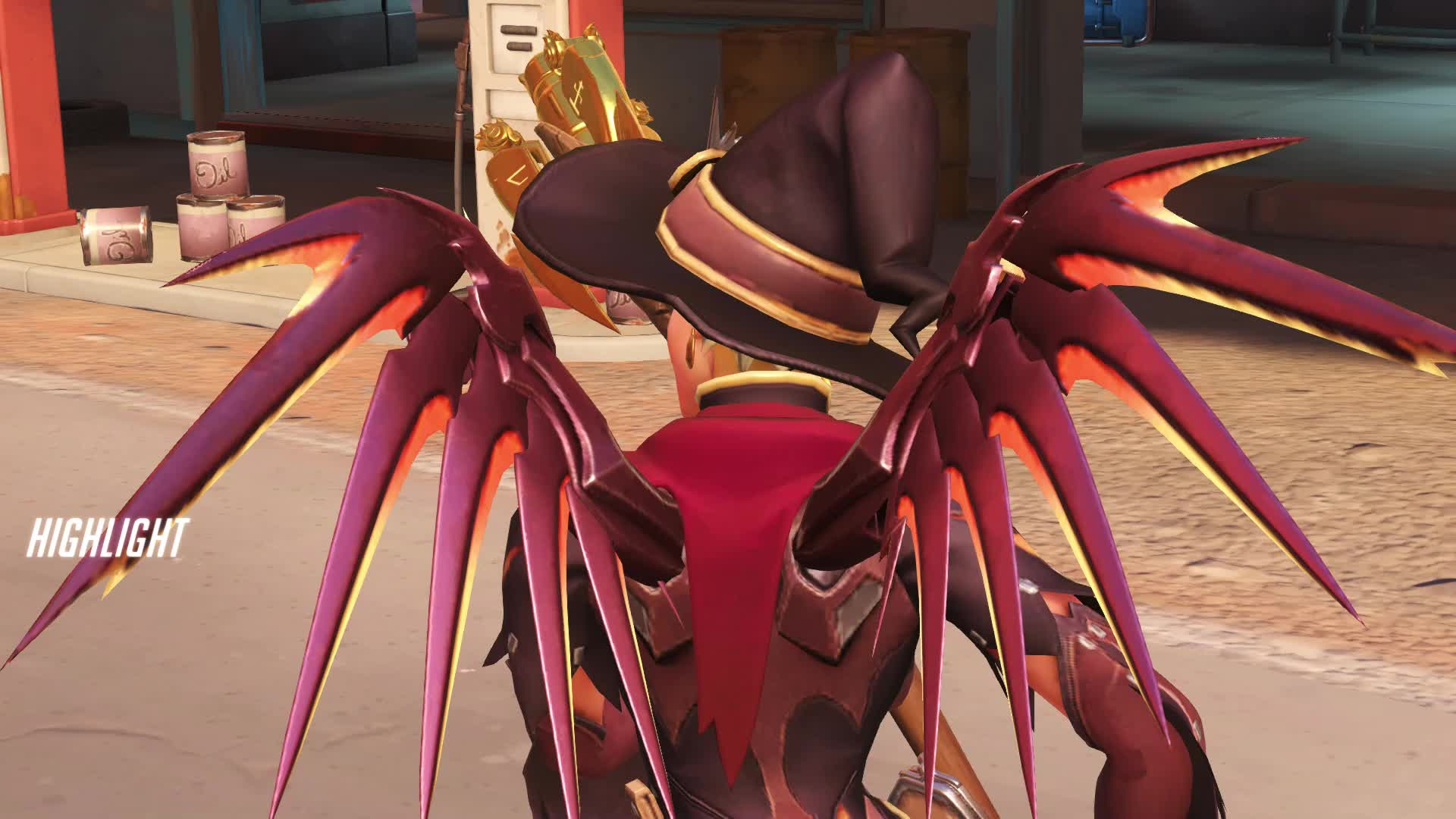 highlight, mercy, overwatch, the two most wanted criminals in the world part 2 GIFs