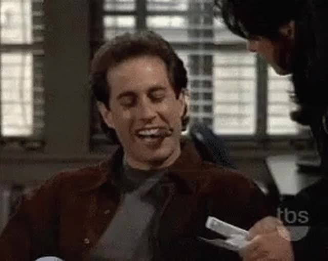 Watch and share Jerry Seinfeld GIFs on Gfycat
