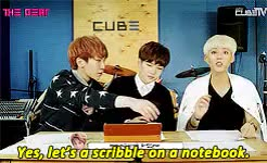 Watch and share Btob's The Beat GIFs and Boyst0boys Gif GIFs on Gfycat