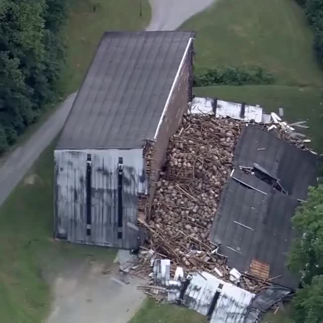 Watch and share Kentucky+collapse+spills+9000+barrels+of+bourbon 13f7e1 6645870 GIFs by drzydrzy on Gfycat