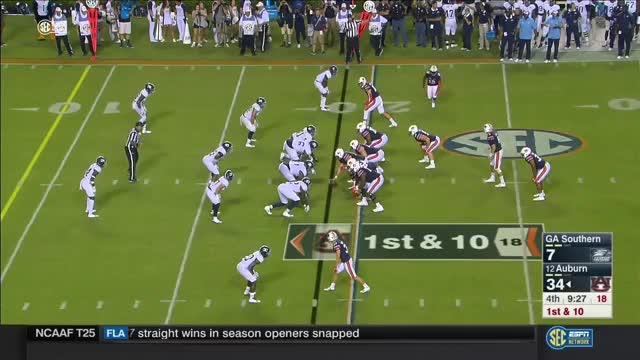 Watch and share Auburn Offense Vs Georgia Southern Defense 2017 GIFs on Gfycat