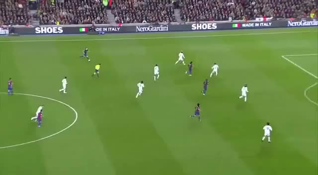 Watch Messi - 19 - makes a hat-trick against Real Madrid (stadium feed, no comms) GIF on Gfycat. Discover more related GIFs on Gfycat