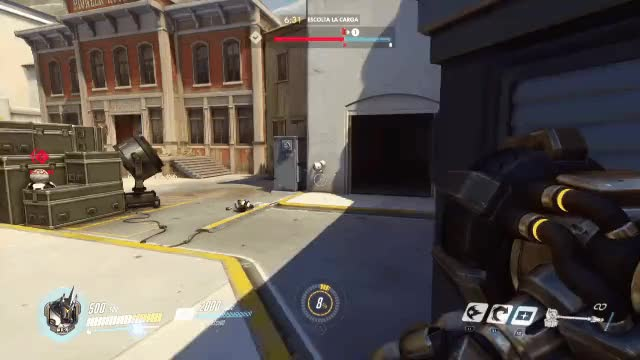 Watch and share Overwatch GIFs and Reinhardt GIFs by jyaelce on Gfycat
