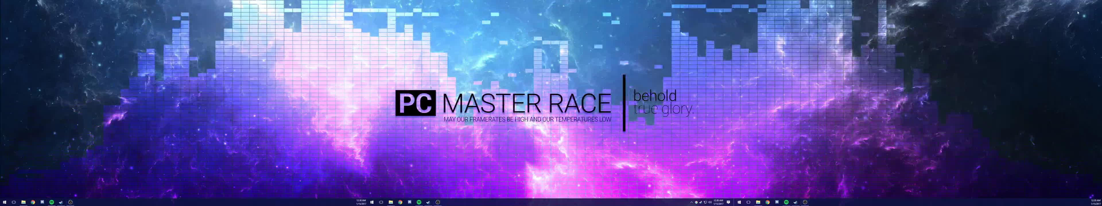 pcmasterrace, wallpaper engine, Triple Monitors with Wallpaper Engine GIFs