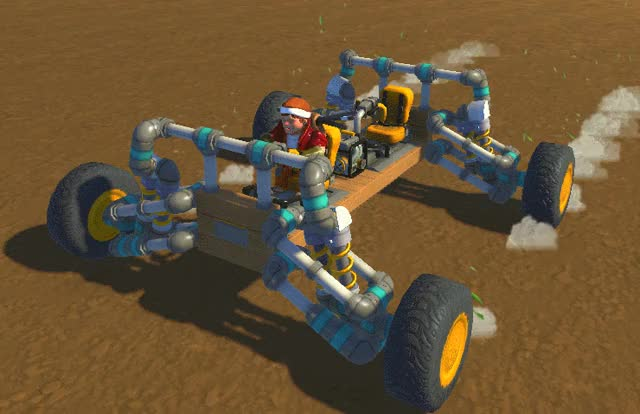 Watch off road suspension GIF by Ross Reed (@rossreed) on Gfycat. Discover more ScrapMechanic, scrapmechanic GIFs on Gfycat