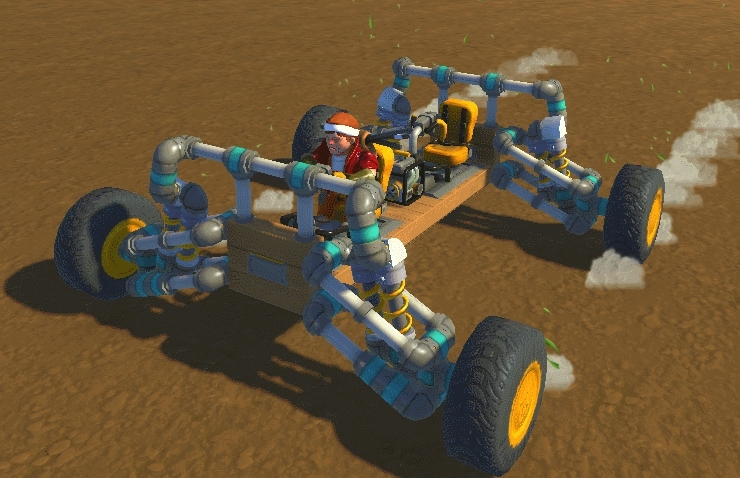 ScrapMechanic, scrapmechanic, off road suspension GIFs