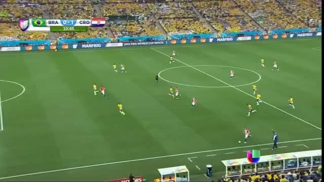 Watch and share Marcelo's Own Goal In Brazil-Croatia World Cup Opener (reddit) GIFs by dekabreak on Gfycat