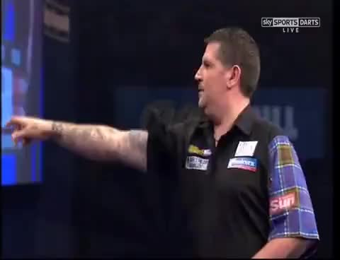 Watch and share PDC World Championship Darts Final 2015 - GARY ANDERSON V PHIL TAYLOR GIFs on Gfycat