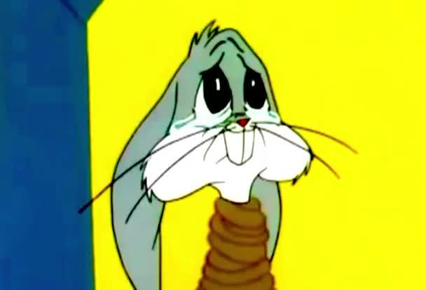 afraid, alone, animals, bags, bunnies, bunny, cry, crying, cute, looney, rabbit, sad, scared, slave, tunes, Crying Bugs Bunny GIFs