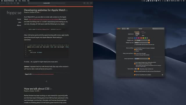 Watch and share Macos Mojave GIFs and Dark Mode GIFs by frippz on Gfycat