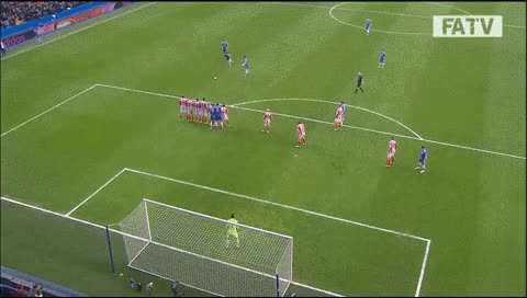 Watch and share Oscar. Chelsea - Stoke City. 2014 GIFs by fatalali on Gfycat