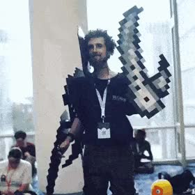 Watch and share Cosplay 8 Bits GIFs by MajinZERO on Gfycat