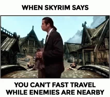 Watch and share Skyrim Travolta GIFs on Gfycat