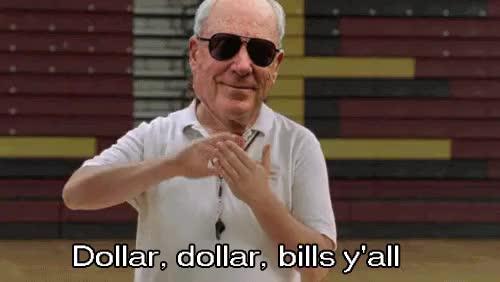 Watch and share Dollar Bills Y All GIFs on Gfycat