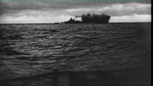 Watch and share Bismarck Firing Its Main Battery And Receiving Return Fire During The Battle Of The Denmark Strait (reddit) GIFs on Gfycat