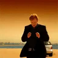 Watch and share Horatio Caine Walking Away From An Explosion GIFs on Gfycat