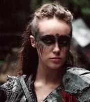 Watch and share Alycia Debnam Carey GIFs and Commander Lexa GIFs on Gfycat