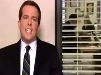Watch and share Andy Bernard GIFs and Kit Kat Song GIFs on Gfycat