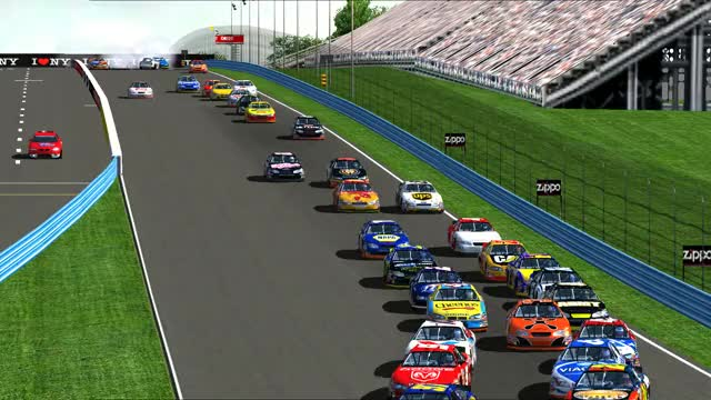Watch and share NASCAR Racing 2003 Season 2019.08.04 - 13.05.33.01 GIFs by Jack on Gfycat
