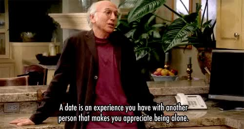 curb your enthusiasm, dating, larry david,  GIFs