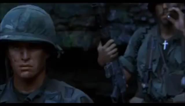 Watch and share Platoon (Sgt. Barnes).wmv GIFs on Gfycat