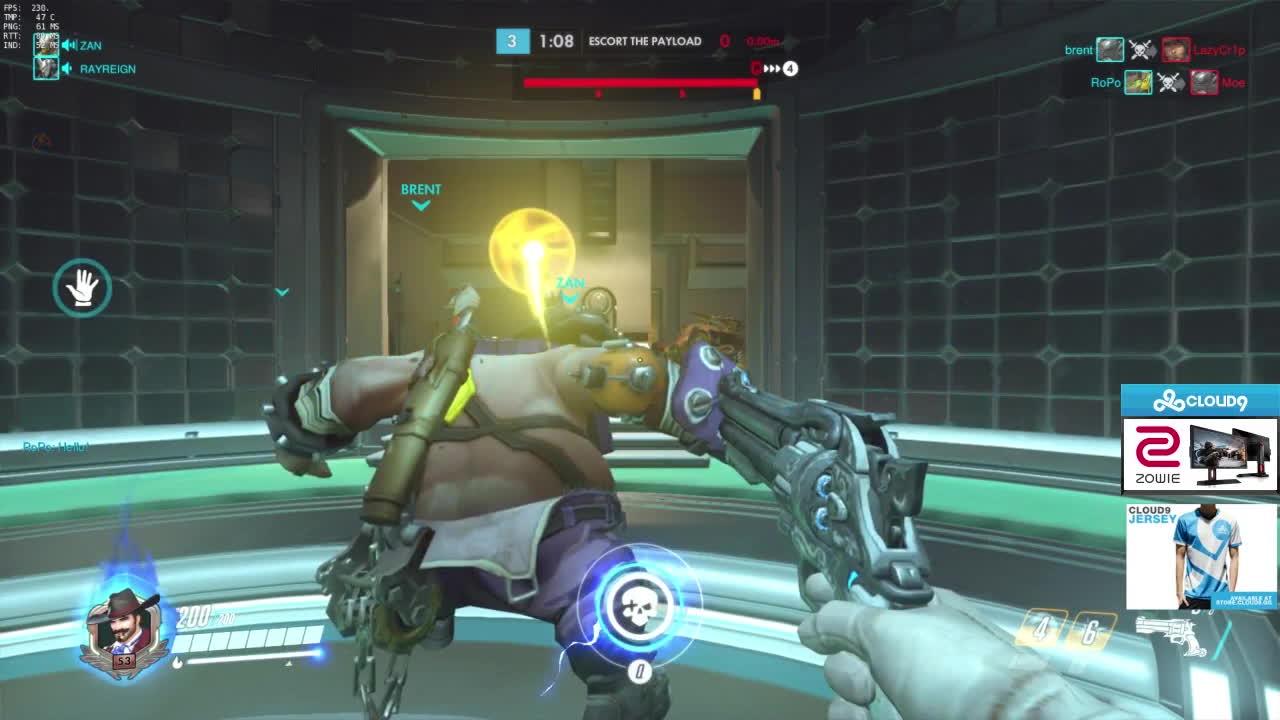 overwatch, pro, Roadhog got moves GIFs
